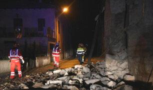 Terremotos causaron grandes daños materiales en Italia