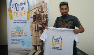 Aldo Miyashiro participó del Festival de Cine de Trujillo
