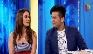 Deyvis Orosco y Analía Rodríguez hablan del nuevo videoclip que grabaron juntos