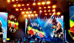 "Guns N' Roses: cuando tocaban ""Civil War"" se produjo el fuerte sismo en Lima"