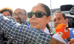 Isabel Pantoja recuperó su libertad