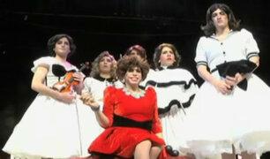 Stefano Tosso estrena obra 'Orquesta de señoritas'