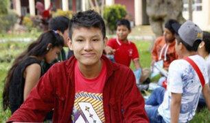 Iquitos: peruano de 13 años fue nominado a premio internacional