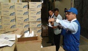 Detectan más de 200 mil frascos de medicinas vencidas en almacenes de la Digemid