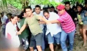 Pucallpa: casi linchan a hombre que disparó a niño por robar mangos