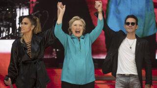 Jennifer López y Marc Anthony se unen para apoyar a Hillary Clinton