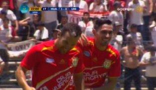 Universitario cayó 4-0 ante Sport Huancayo por Liguilla