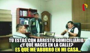 Arresto domiciliario: libres para delinquir
