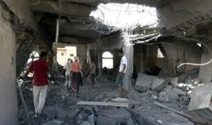 Yemen: bombardeo saudí deja 60 muertos