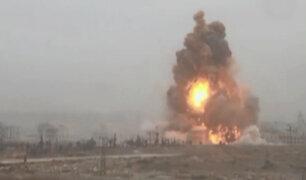 Siria: tercer día de ataques en Alepo