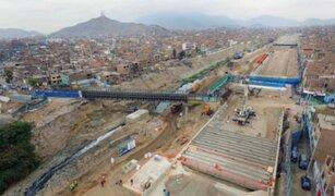 MML desmontó antigua estructura del puente Bella Unión