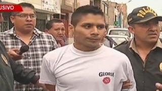 Policía detuvo a delincuente tras balacera en el Callao