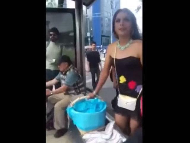 YouTube: Usuarios quedan en shock al ver esta forma de vender tacos en México [VIDEO]