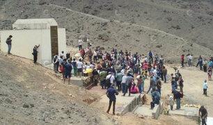 Familiares de terroristas realizaron ceremonia en mausoleo de Comas