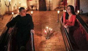 Hermanos canadienses pasan Halloween en castillo de Drácula