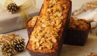 Prepara un rico keke de frutos secos de manera rápida en casa