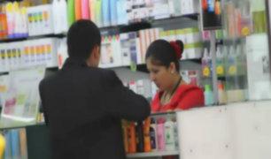 Concertación de precios: proponen sanción penal a farmacias