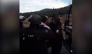 México: Policía Federal agrede a un periodista