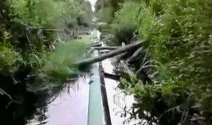 Petroperú se declaró en emergencia ante nuevo derrame de petróleo
