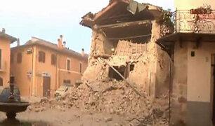 Nuevo sismo de 5,0 grados en la escala de Richter sacudió centro de Italia