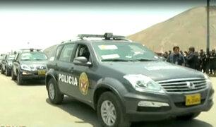 Policía alquilará vehículos para patrullar Lima