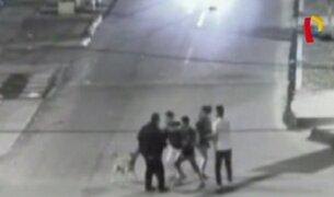Cámara de videovigilancia capta asaltos a transeúntes en el Centro de Lima
