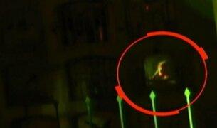 Cámaras captan a supuesto fantasma en Chosica