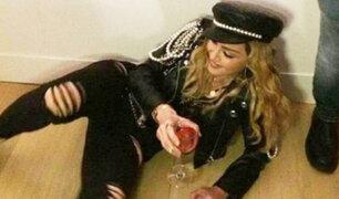 Madonna habría llegado ebria a una exposición de arte