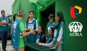 Panamericana Televisión y ADRA unidos por los damnificados de Cantagallo