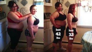 Madre e hija asumieron reto para bajar de peso y esto ocurrió 100 días después