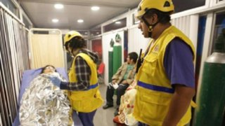 Incendio en Cantagallo: Municipalidad de Lima instala carpas para damnificados