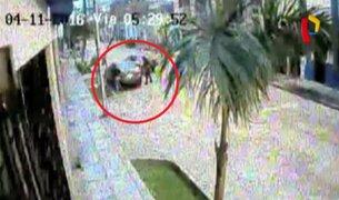 Breña: delincuentes desmantelan taxi y se llevan 12 mil soles en autopartes