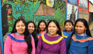Comunidad shipiba llegó hace 16 años a instalarse en Cantagallo