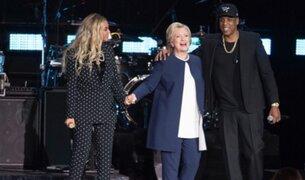Beyoncé y Jay Z apoyan a Hillary Clinton en la recta final de su campaña