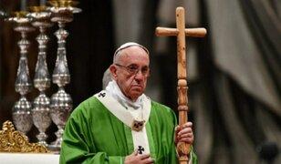 Papa Francisco ofició misa especial para presos en la basílica de San Pedro