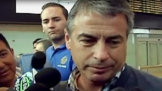Pablo Bengoechea arribó al aeropuerto Jorge Chávez