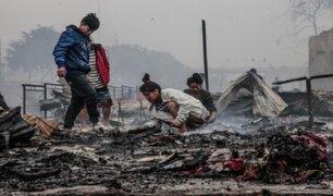 Incendio en Cantagallo: la tragedia de la comunidad shipiba