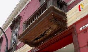 Balcones en estado de abandono: pedazos de historia olvidados