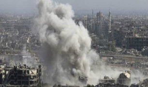 Siria: seis niños mueren en bombardeos sobre jardín