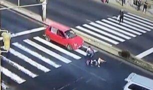 Chaclacayo: conductores atropellan a dos menores y se dan a la fuga
