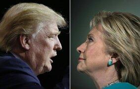 Hillary Clinton supera a Donald Trump en encuestas presidenciales