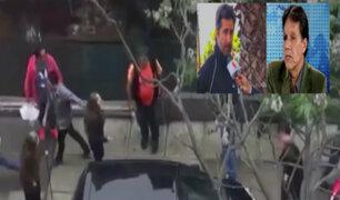 Denuncian agresión: Marco Zunino y familia Bellina brindan su versión por incidente en Miraflores
