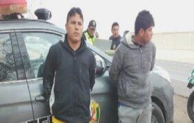 Capturan a presuntos asesinos de alférez de la policía