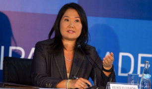 Fiscalía reprogramó citación a Keiko Fujimori