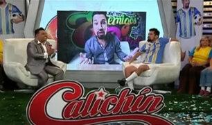 """Andrés Hurtado y su emotivo homenaje a """"Calichín"""""""