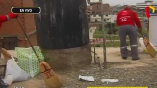 Callao: realizan limpieza en viviendas ante riesgo por excreta de palomas