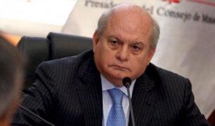 Premier Cateriano: Ejecutivo analiza acciones para optimizar ejecución presupuestal