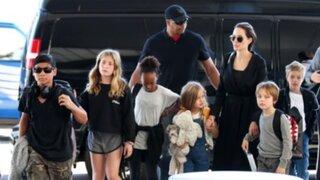 Angelina Jolie gana la custodia de sus seis hijos