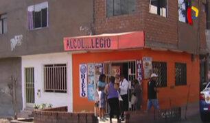 Independencia: vecinos piden clausura de licorería