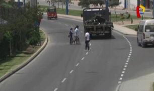 Ventanilla: vecinos no usan puente peatonal en avenida Gambetta